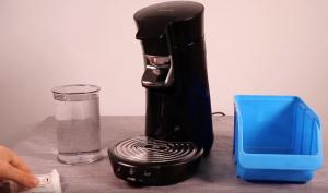 Philips Senseo Viva Café entkalken – Anleitung