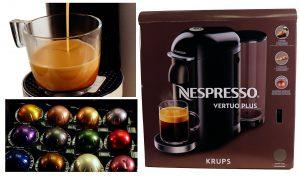 Krups Nespresso Vertuo Plus im Test – ausgezeichneter Kaffee per Knopfdruck