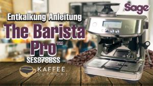 Sage The Barista Pro™ Entkalkung Anleitung