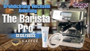Sage The Barista Pro™ SES878BSS Brühdichtung Wechseln